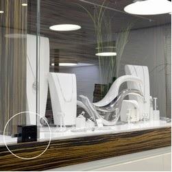 serrures cr maill re abiolock pour vitrine en verre portes coulissantes. Black Bedroom Furniture Sets. Home Design Ideas